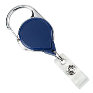 The carabiner easily clips to a belt loop in a secure, easy-to-use fashion. The no-twist badge reels hold your credentials straight and visible at all times. They are a perfect badge holder solution for hospital and airport workers that are required to display their ID prominently.